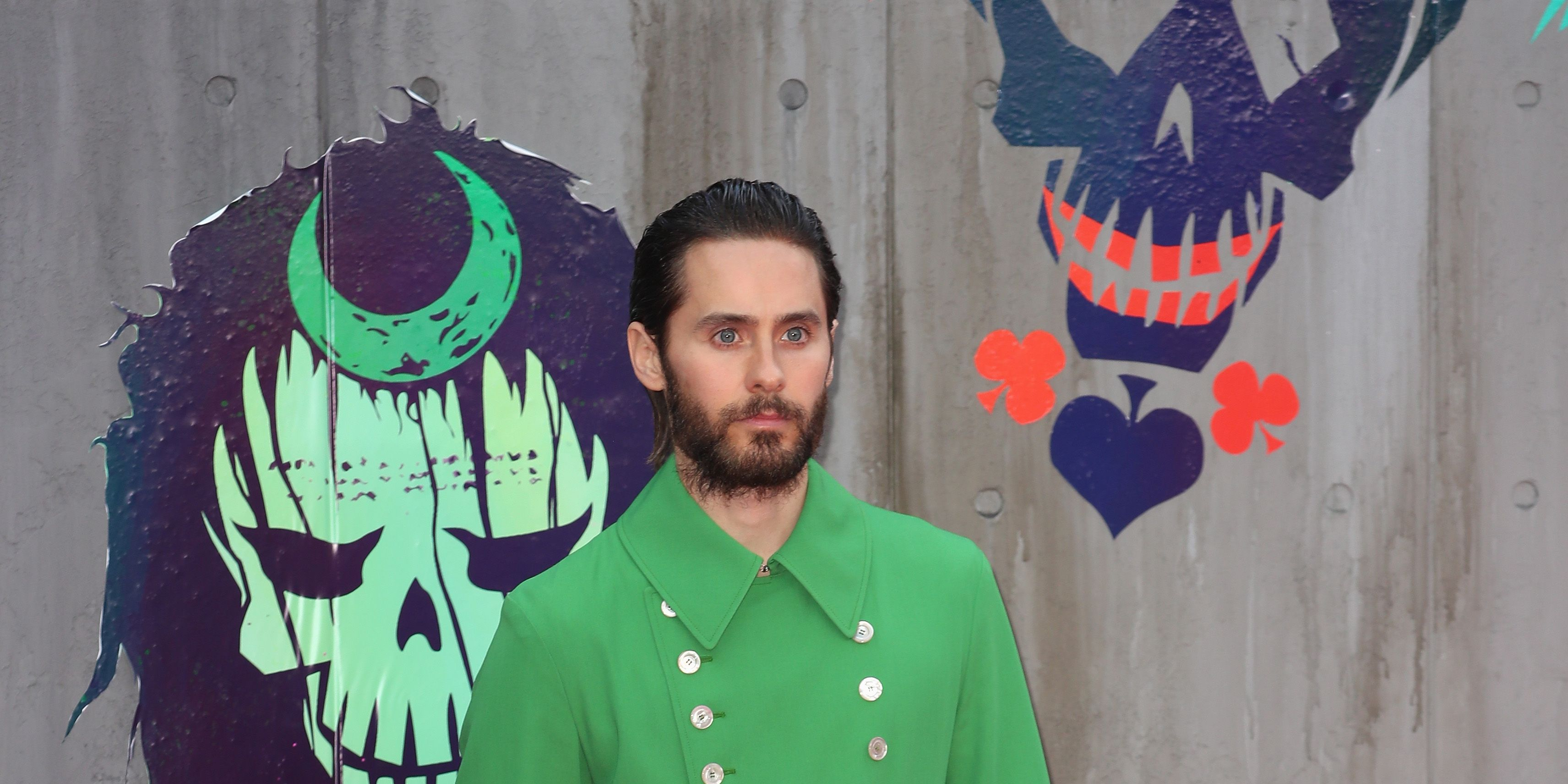 Jared Leto at European Premiere of Suicide Squad