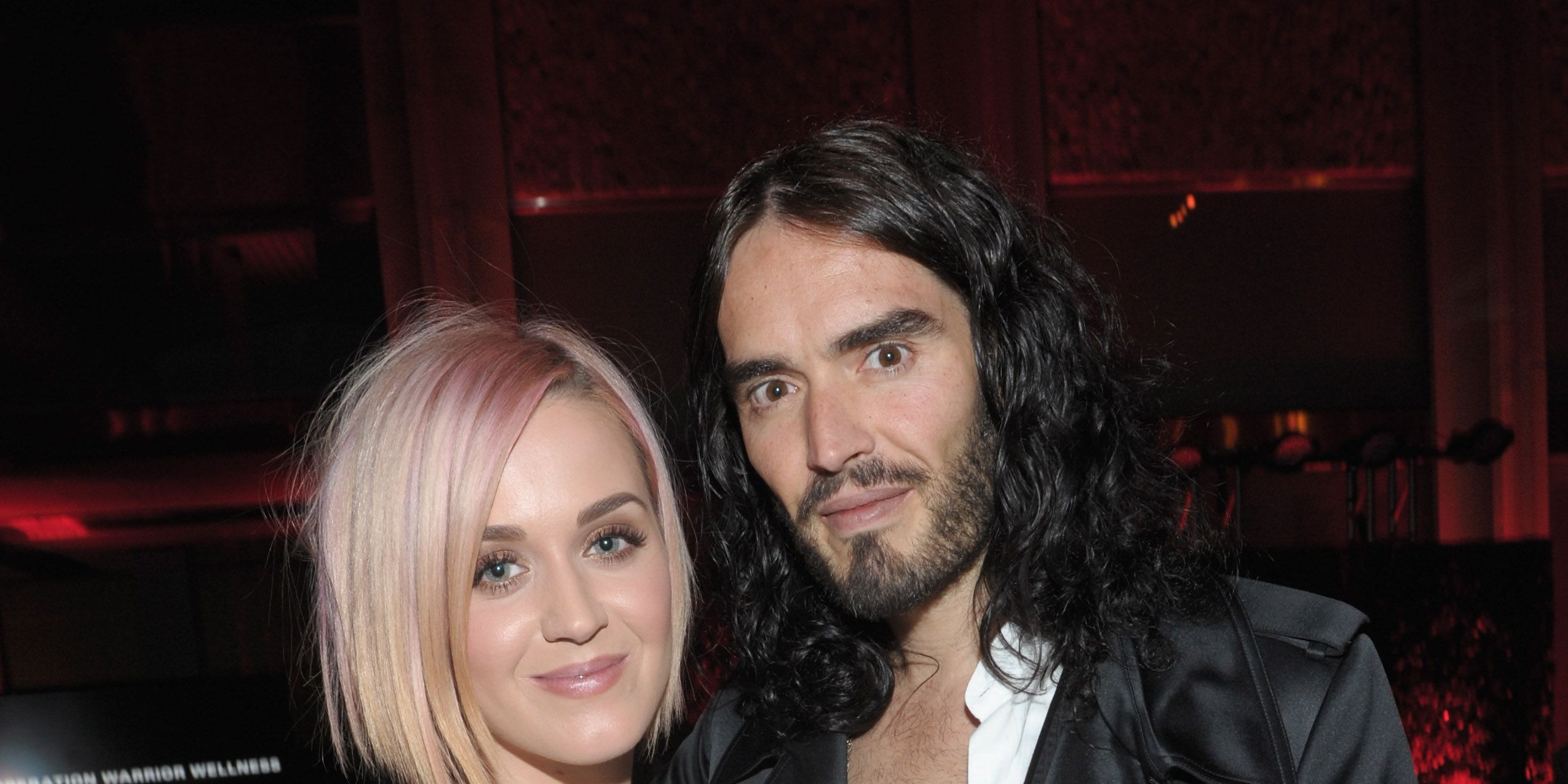 LOS ANGELES, CA - DECEMBER 03: Singer Katy Perry (L) and actor Russell Brand attend the 3rd Annual 'Change Begins Within' Benefit Celebration presented by The David Lynch Foundation held at LACMA on December 3, 2011 in Los Angeles, California.
