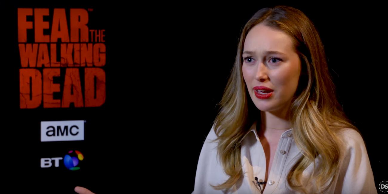 Alycia Debnam-Carey speaks to Digital Spy at the Fear the Walking Dead junket