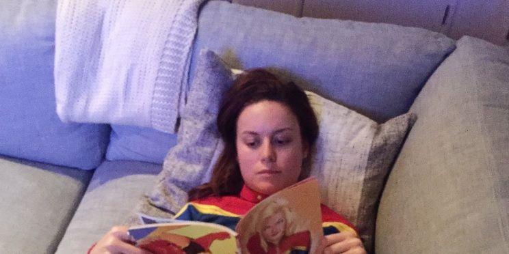 Brie Larson Captain Marvel research Carol Danvers