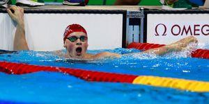 Adam Peaty at Rio 2016