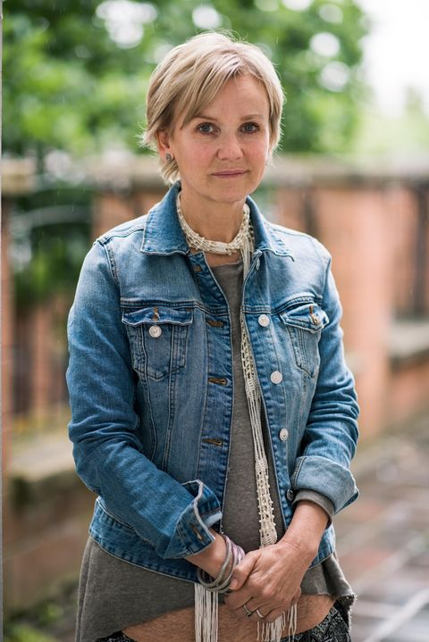 Lisa Maxwell as Grace Black's mum Tracey in Hollyoaks