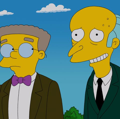 Mr. Burns recalls a a romance with a beautiful Parisian woman in the 'Four Regrettings and a Funeral' episode of THE SIMPSONS
