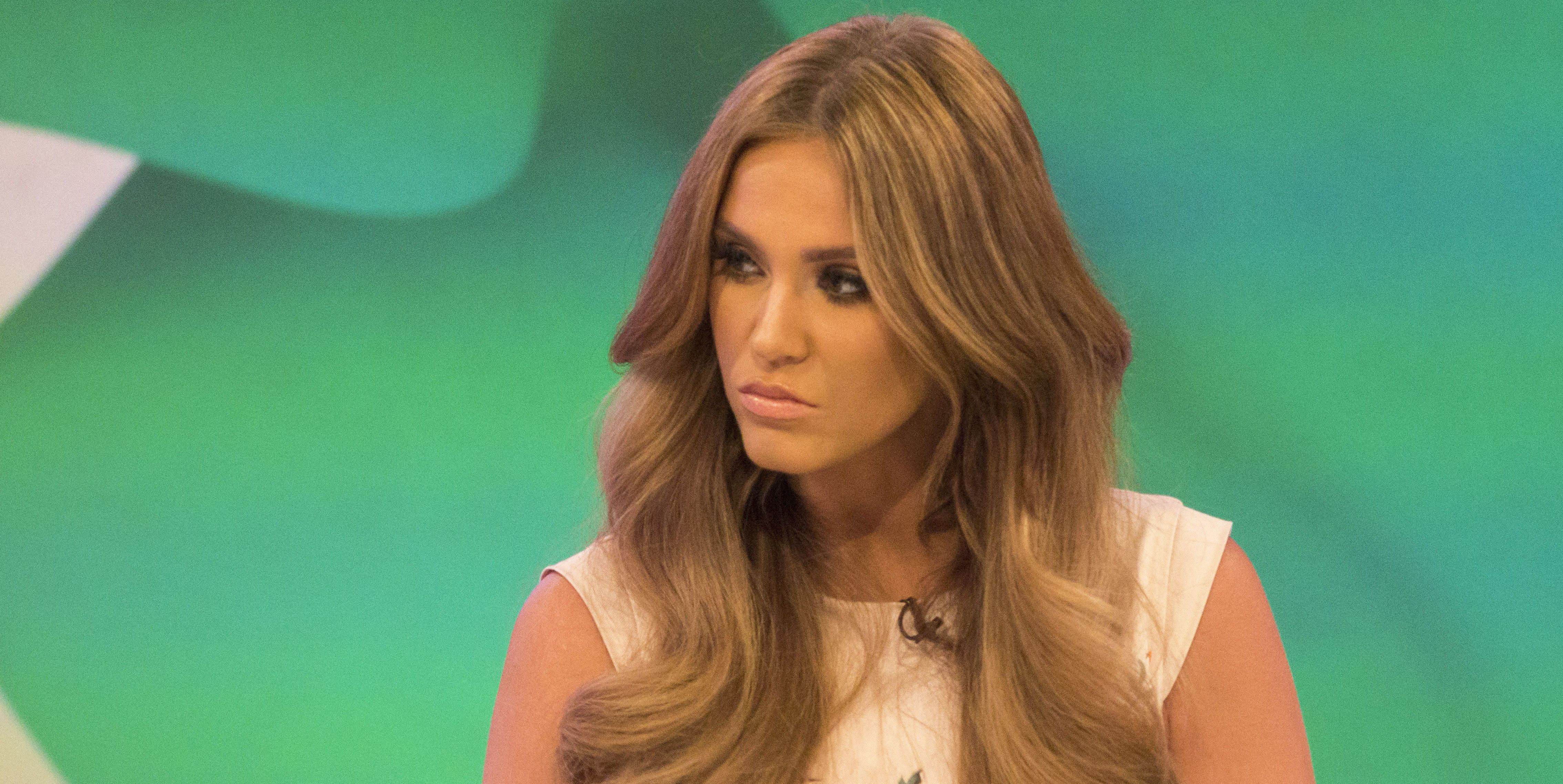 Vicky Pattison, looking annoyed, Loose Women