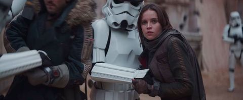 Star Wars, Rogue One trailer