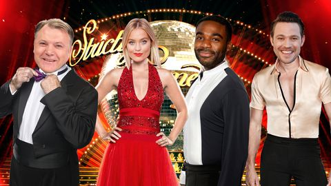 PHOTOSHOP Strictly Come Dancing, Ed Balls, Laura Whitmore, Ore Oduba, Will Young