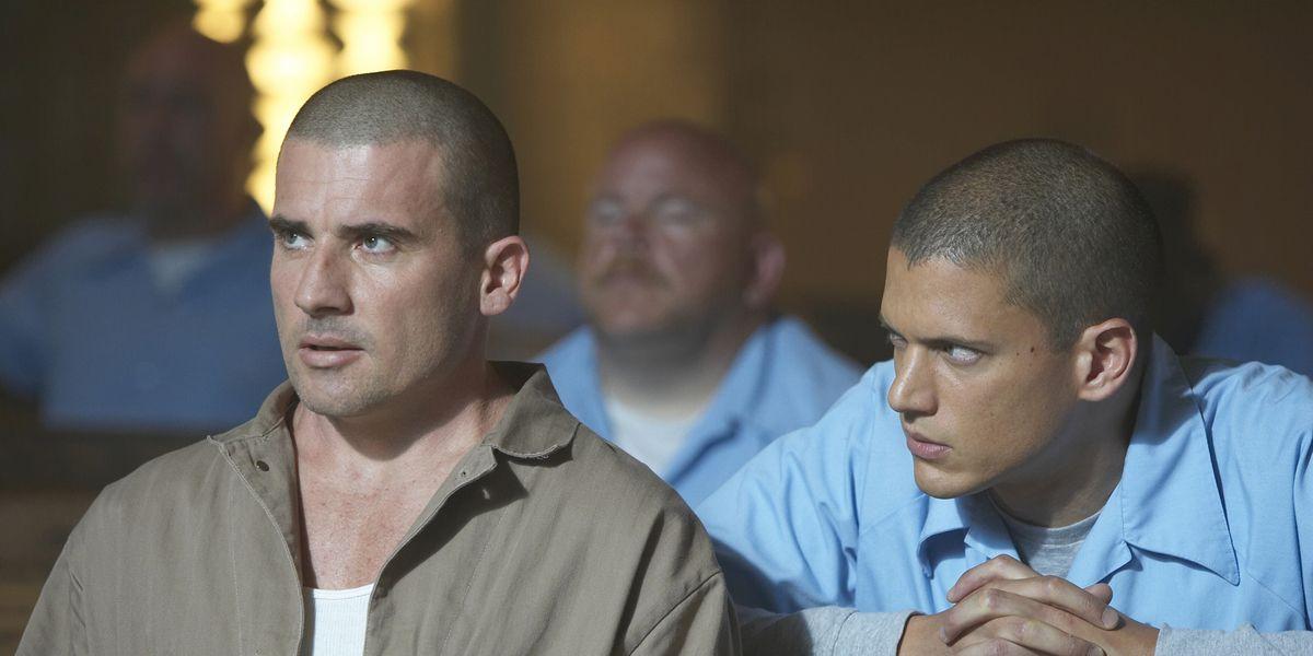 Lincoln Burrows and Michael Scofield in Prison Break