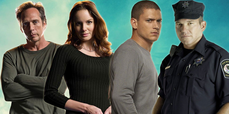 Prison Break-  Sarah Wayne-Callies as Sara,  Wentworth Miller as Michael, William Fichtner as Mahone, Wade Williams as Bellick