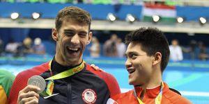 Joseph Schooling Michael Phelps