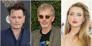 Split of Johnny Depp, Billy Bob Thornton and Amber Heard