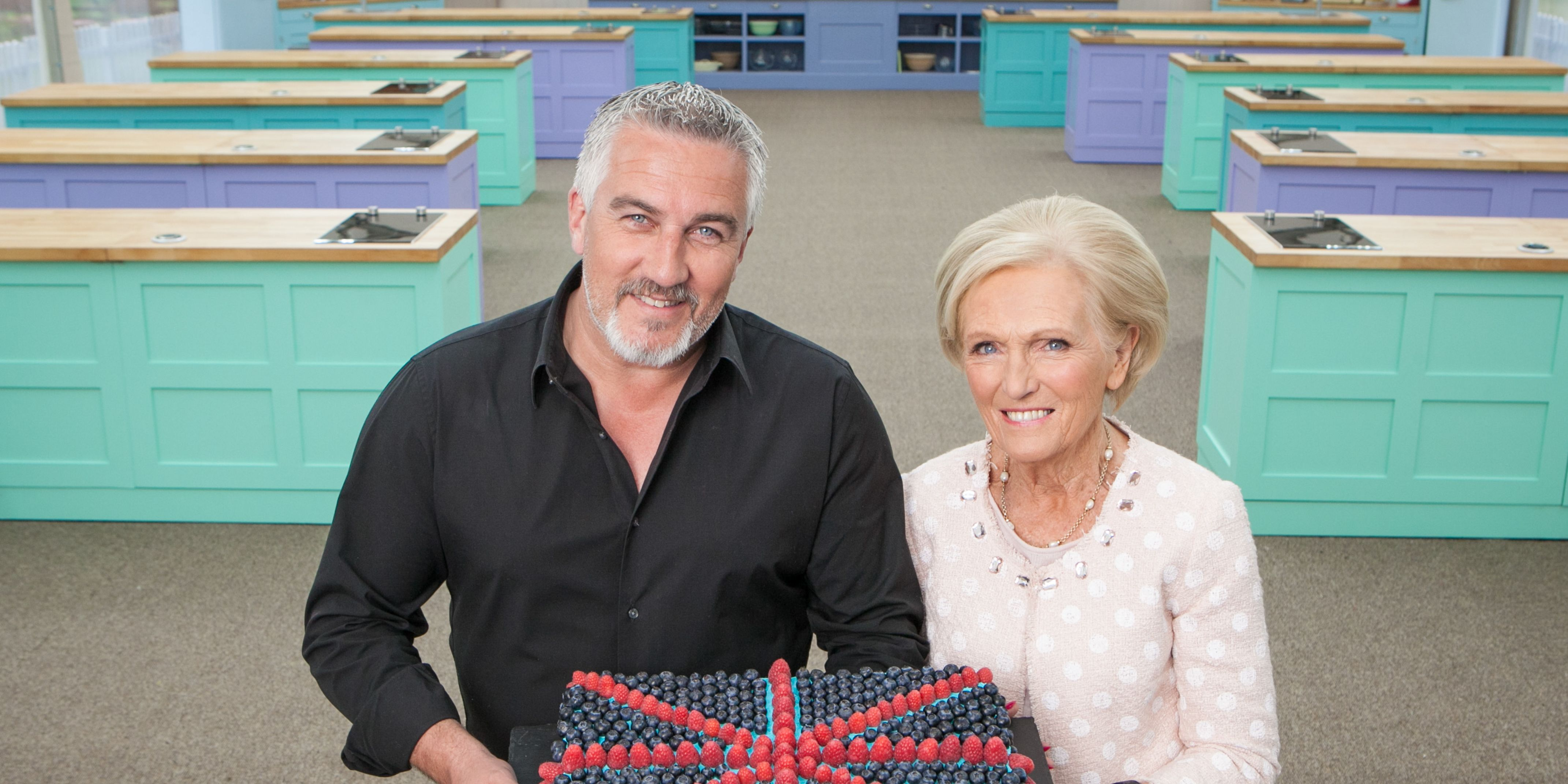 Great British Bake Off judges, Mary Berry, Paul Hollywood, 2016