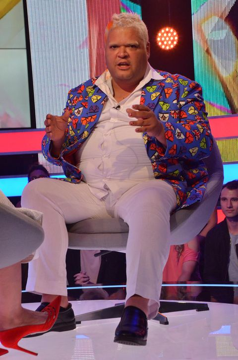 heavy d is the latest housemate to be evicted from celebrity big brother evicted from celebrity big brother
