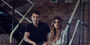 Ben Ryan-Davies and Sophie Porley as Nick Savage and Ellie Nightingale in Hollyoaks