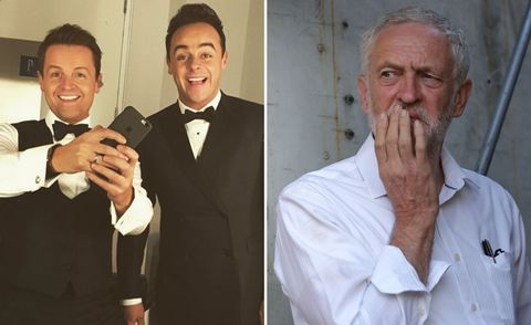 Jeremy Corbyn doesn't know who Ant and Dec are.