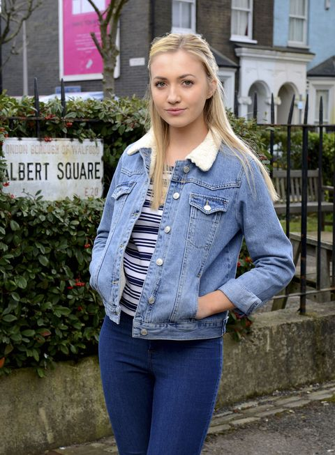 83bd751b9a746 EastEnders  Tilly Keeper weighs in on Louise Mitchell s love triangle