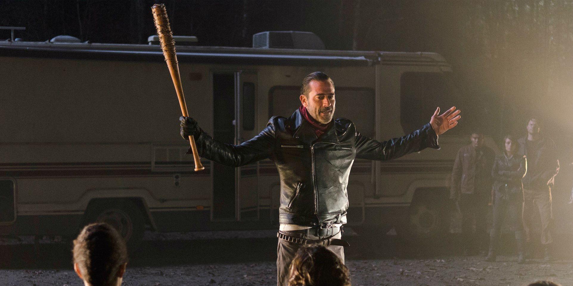 Negan in The Walking Dead season 6 episode 16