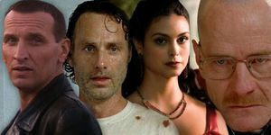 Morena Baccarin, Firefly, Doctor Who, Christopher Eccleston, Andrew Lincoln, The Walking Dead, Bryan Cranston, Breaking Bad