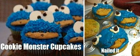 Top Five Pinterest Fails Cookie Monster - Circus