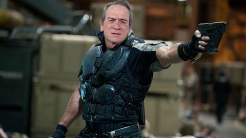 PHOTOSHOP Tommy Lee Jones, Originally cast in Fast and Furious, in place of Dwayne Johnson