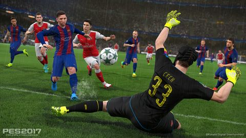 PES 2017 review – PES gives it 110%