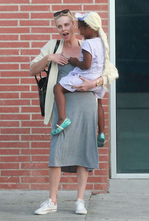 People Are Wondering Why Charlize Therons 5 Year Old Son Is Wearing
