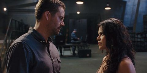 Brian and Letty in Fast & Furious 6