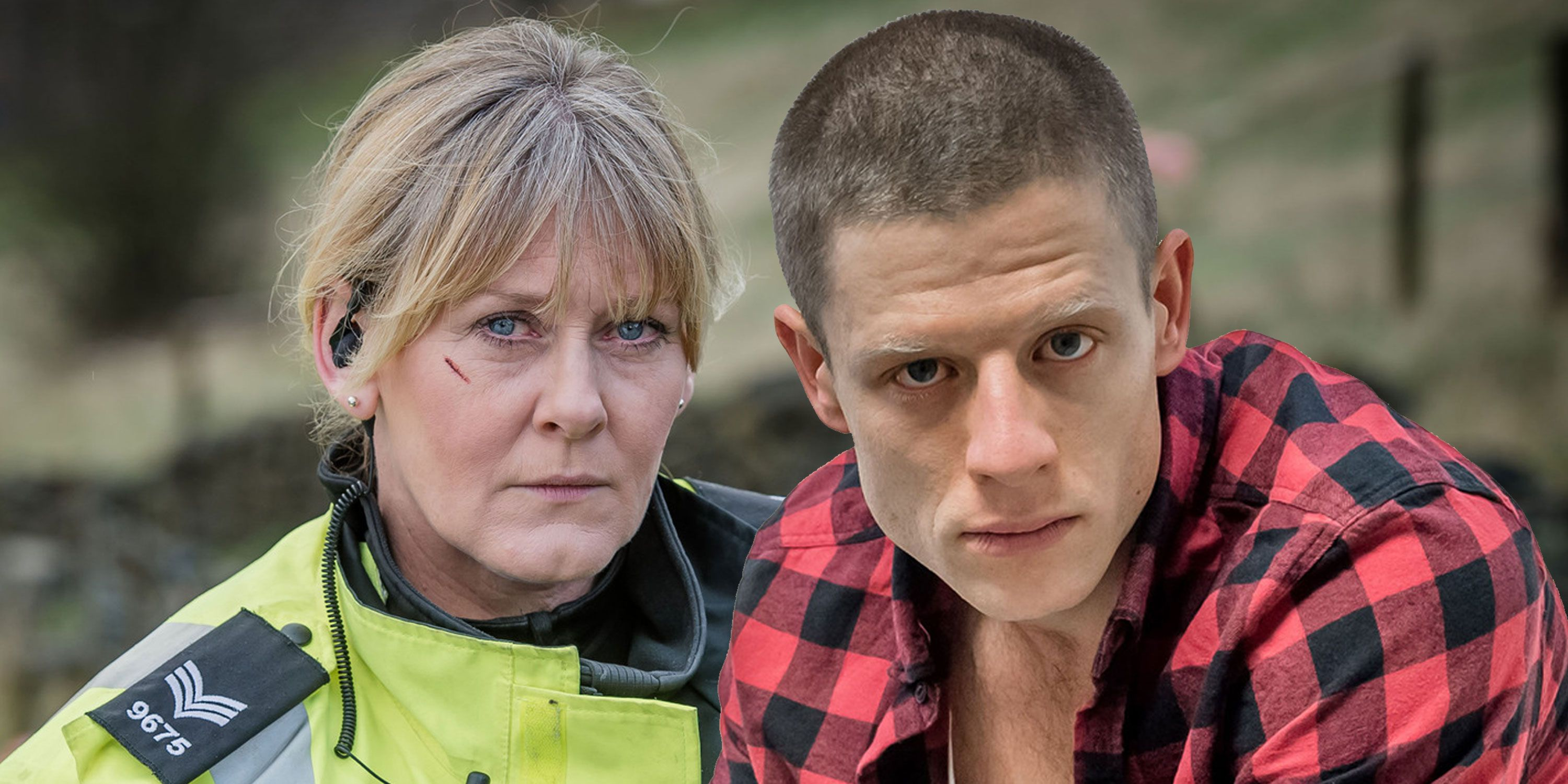 Happy Valley, Sarah Lancashire and James Norton