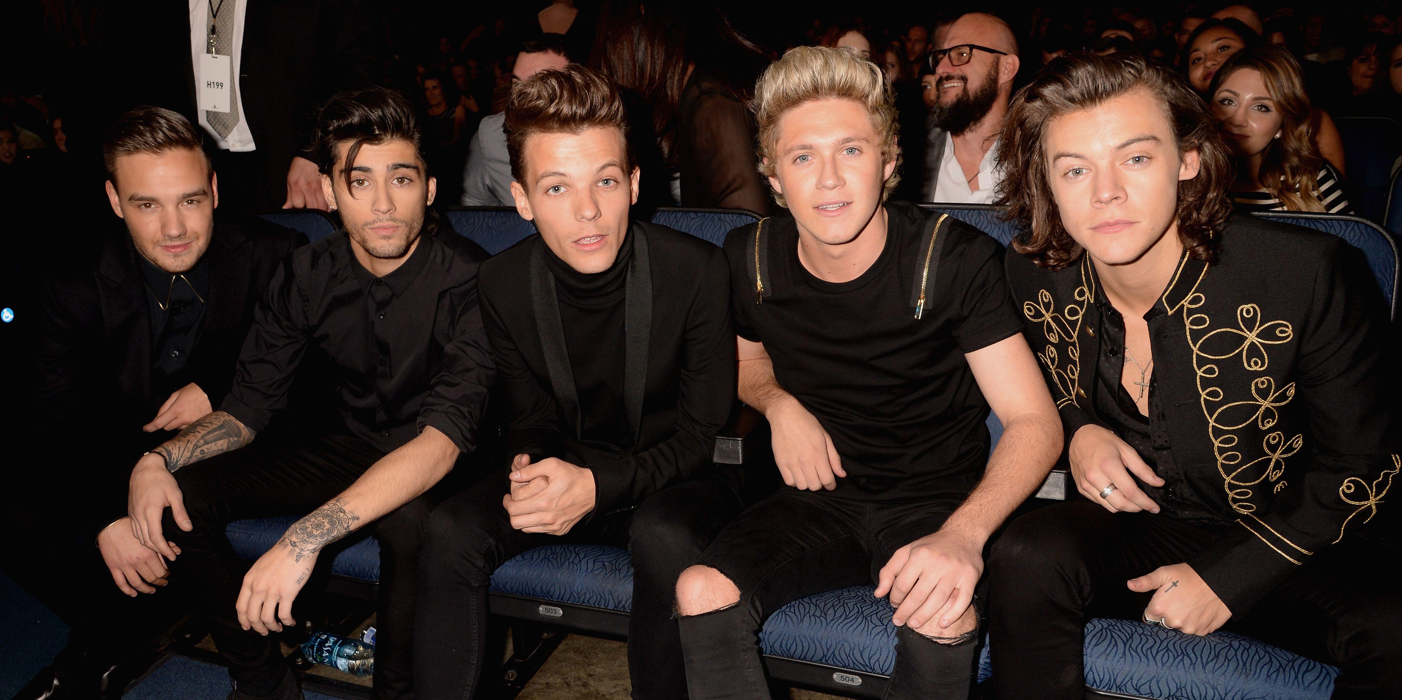 One Direction: Harry Styles, Liam Payne, Louis Tomlinson, Niall Horan, Zayn Malik