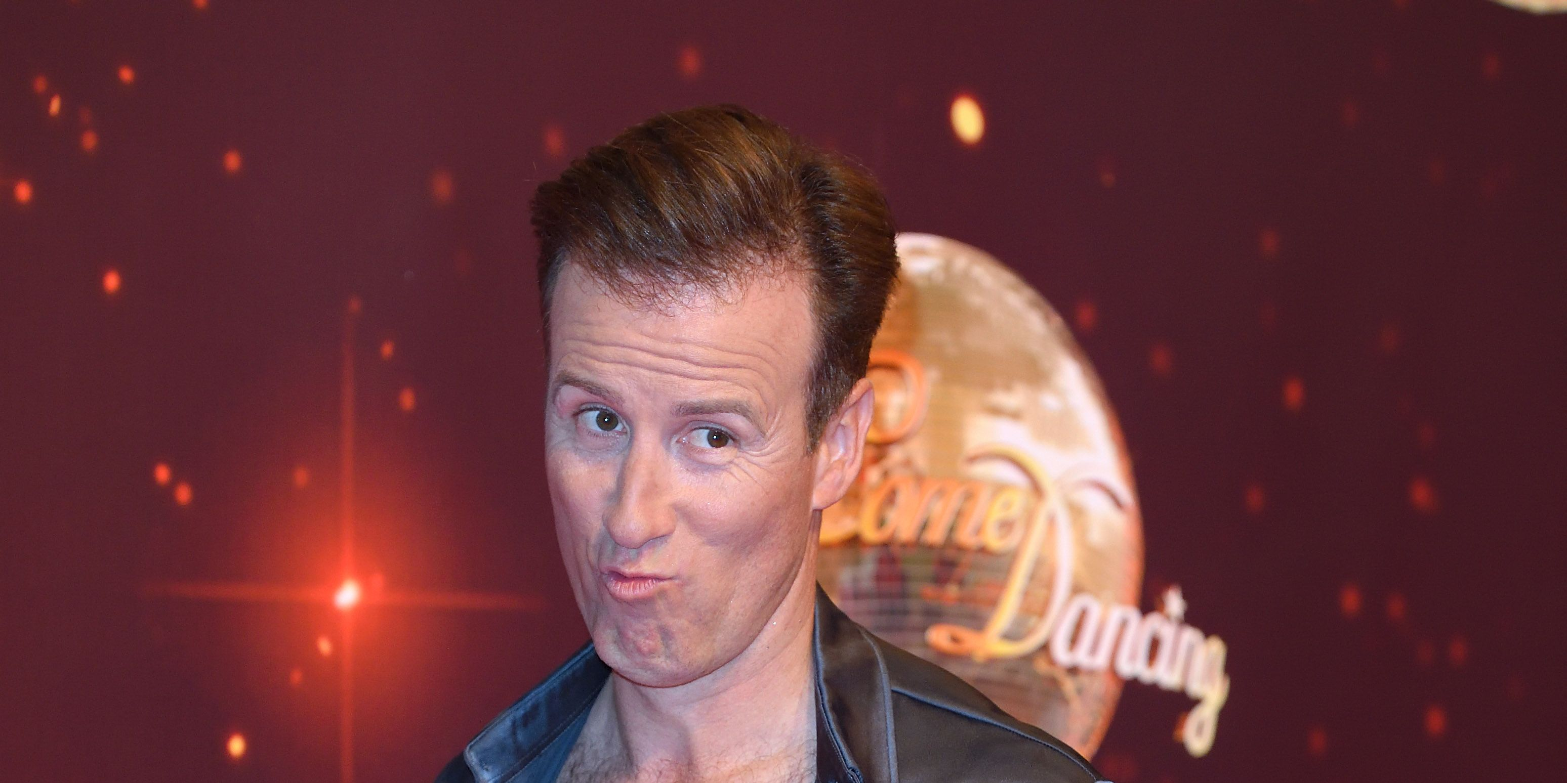 Anton Du Beke on the Strictly Come Dancing red carpet