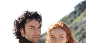 Ross and Demelza in Poldark series 2