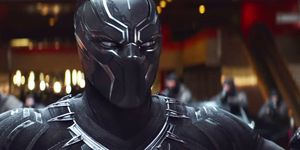 Black Panther Chadwick Boseman in Captain America: Civil War