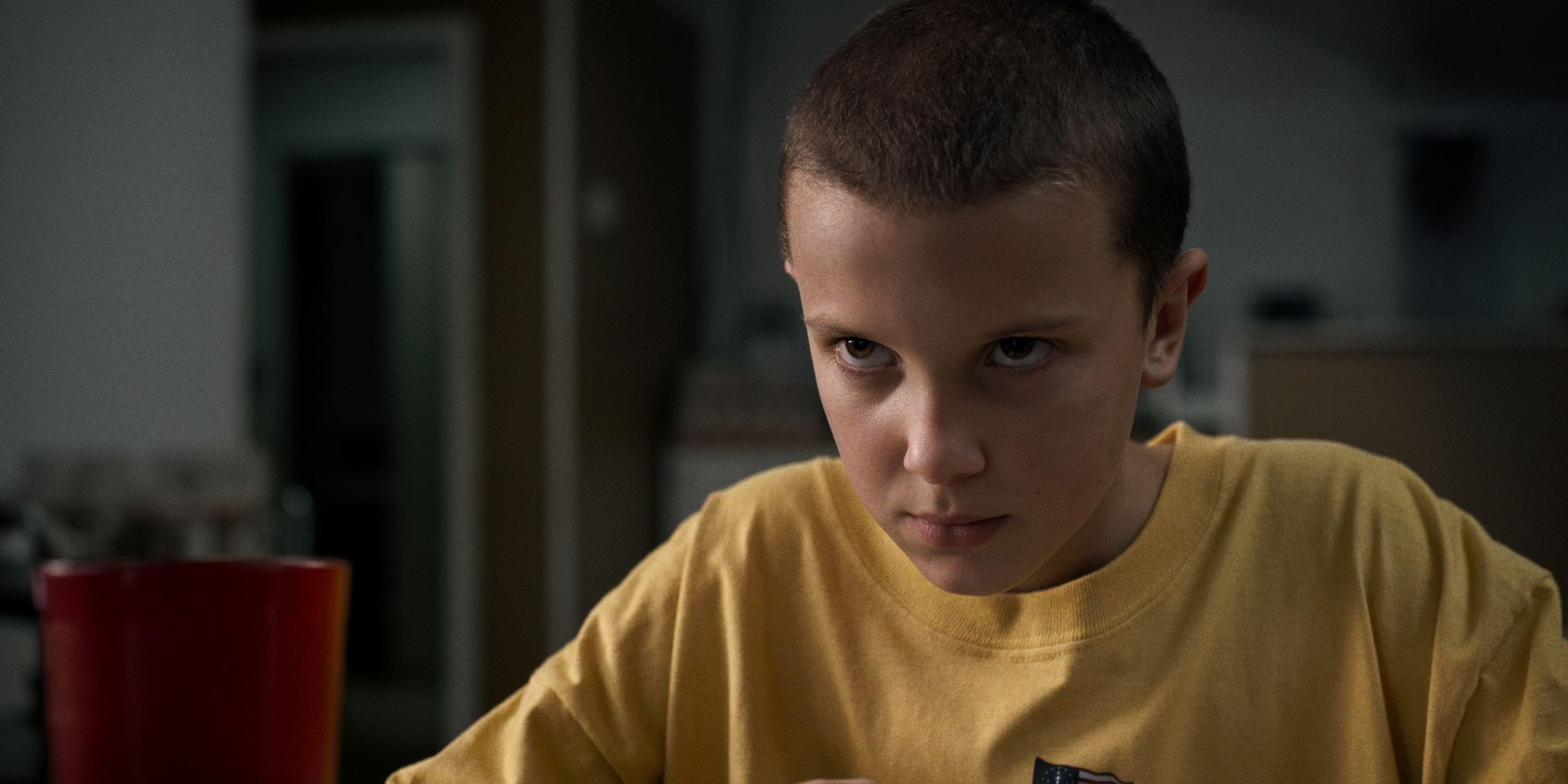 Eleven (Millie Bobbie Brown) in Netflix's Stranger Things