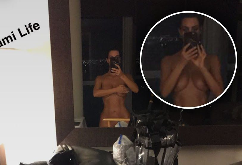 Kim Kardashian Naked