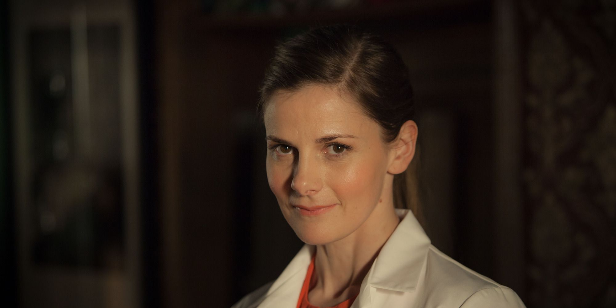 Louise Brealey as Molly in Sherlock