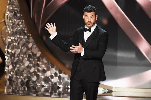 Jimmy Kimmel at the Emmy Awards