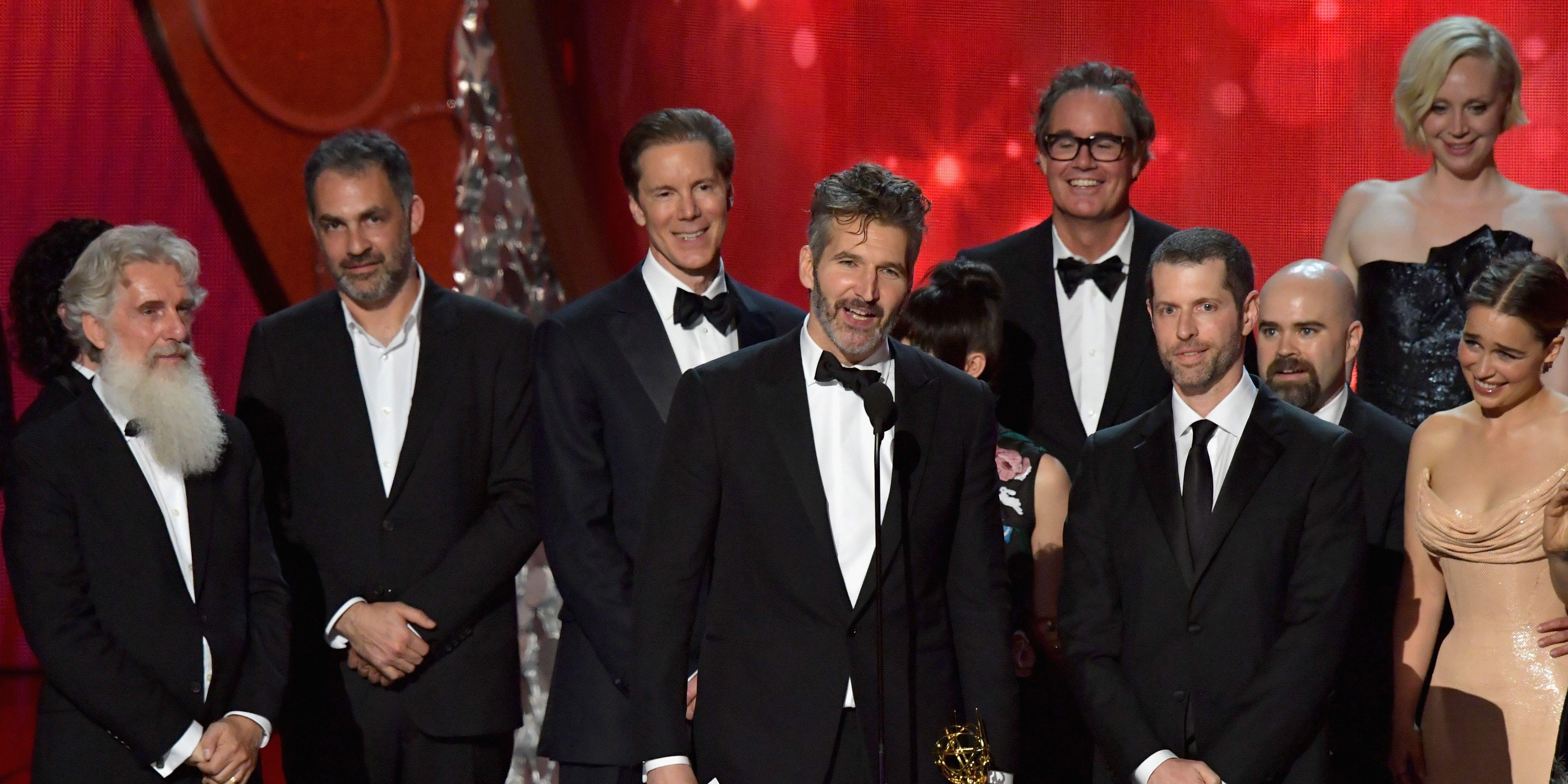 Game of Thrones' David Benioff, D.B. Weiss win Emmy