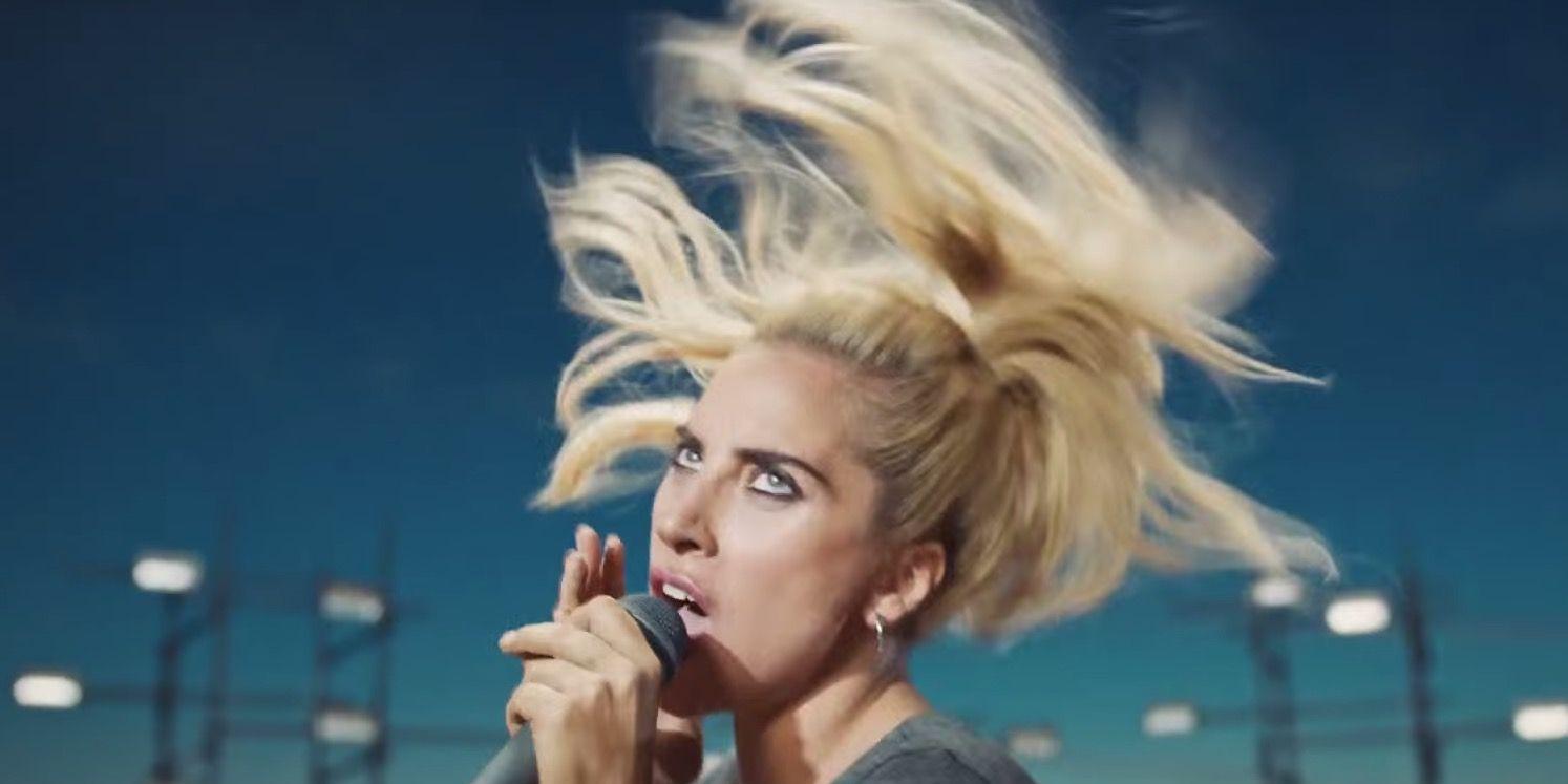 Lady Gaga 'Perfect Illusion' music video.