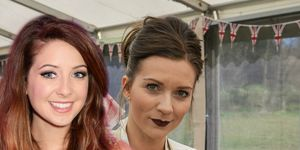 Zoella and Candice Great British Bake Off