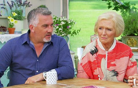 Mary Berry, Paul Hollywood, Great British Bake Off