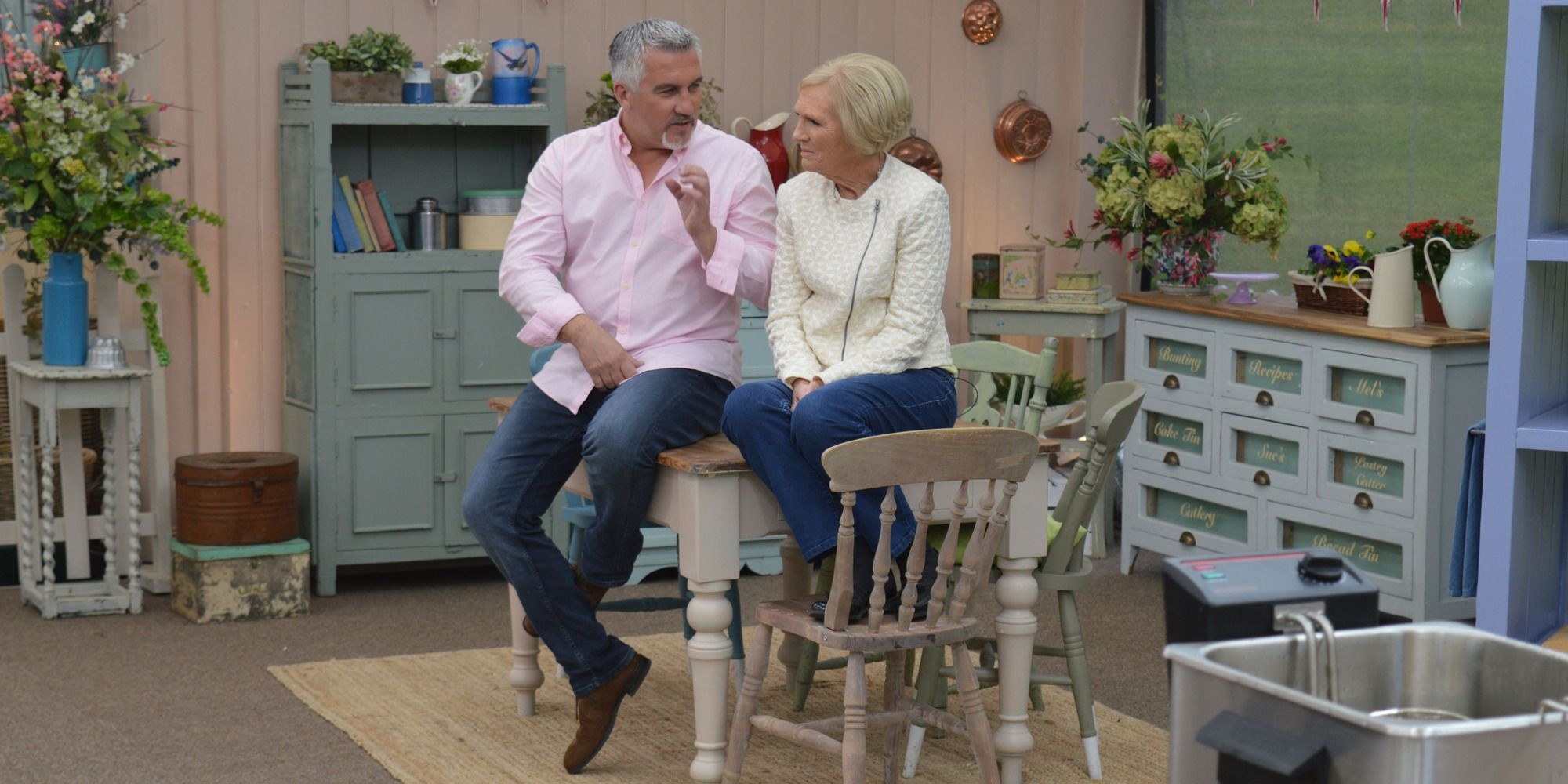 Paul Hollywood and Mary Berry on the Great British Bake Off 2016