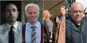 Riz Ahmed in The Night Of / Victor in Still Game / Kerry Howard and Zoe Boyle in Witless / Ross Kemp in Extreme World