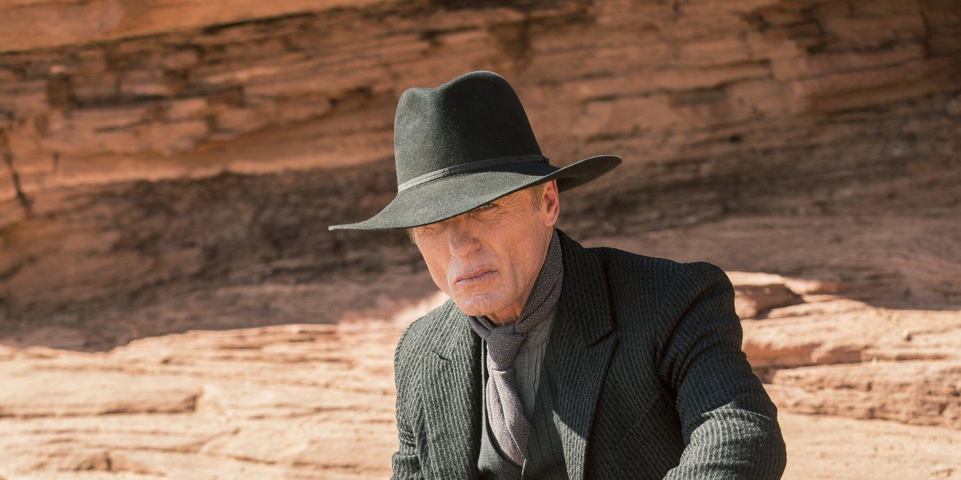 Ed Harris as the Man in Black in HBO's Westworld