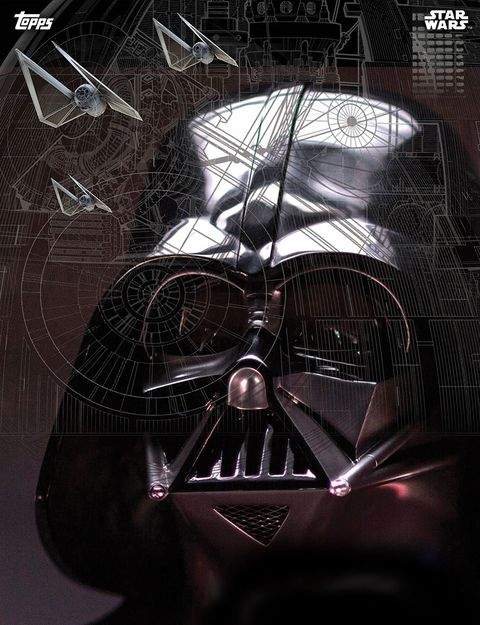 Star Wars Rogue One, Darth Vader, Topps card