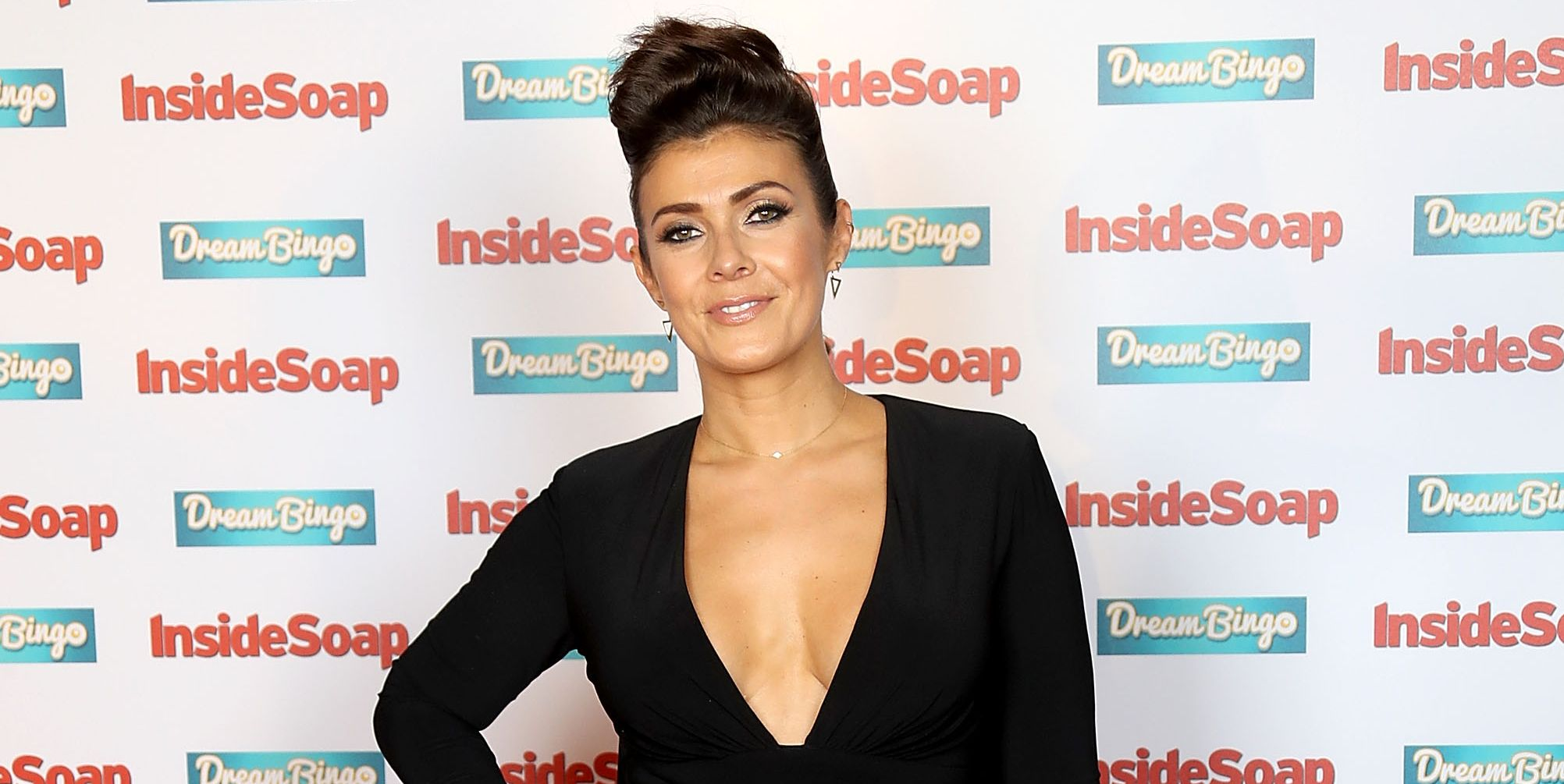 Kym Marsh attends the Inside Soap Awards at The Hippodrome on October 3, 2016 in London, England