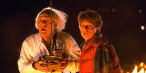 Doc Brown and Marty McFly in Back to the Future