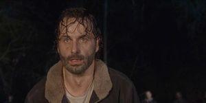 Rick Grimes in The Walking Dead s06e16, 'Last Day on Earth'