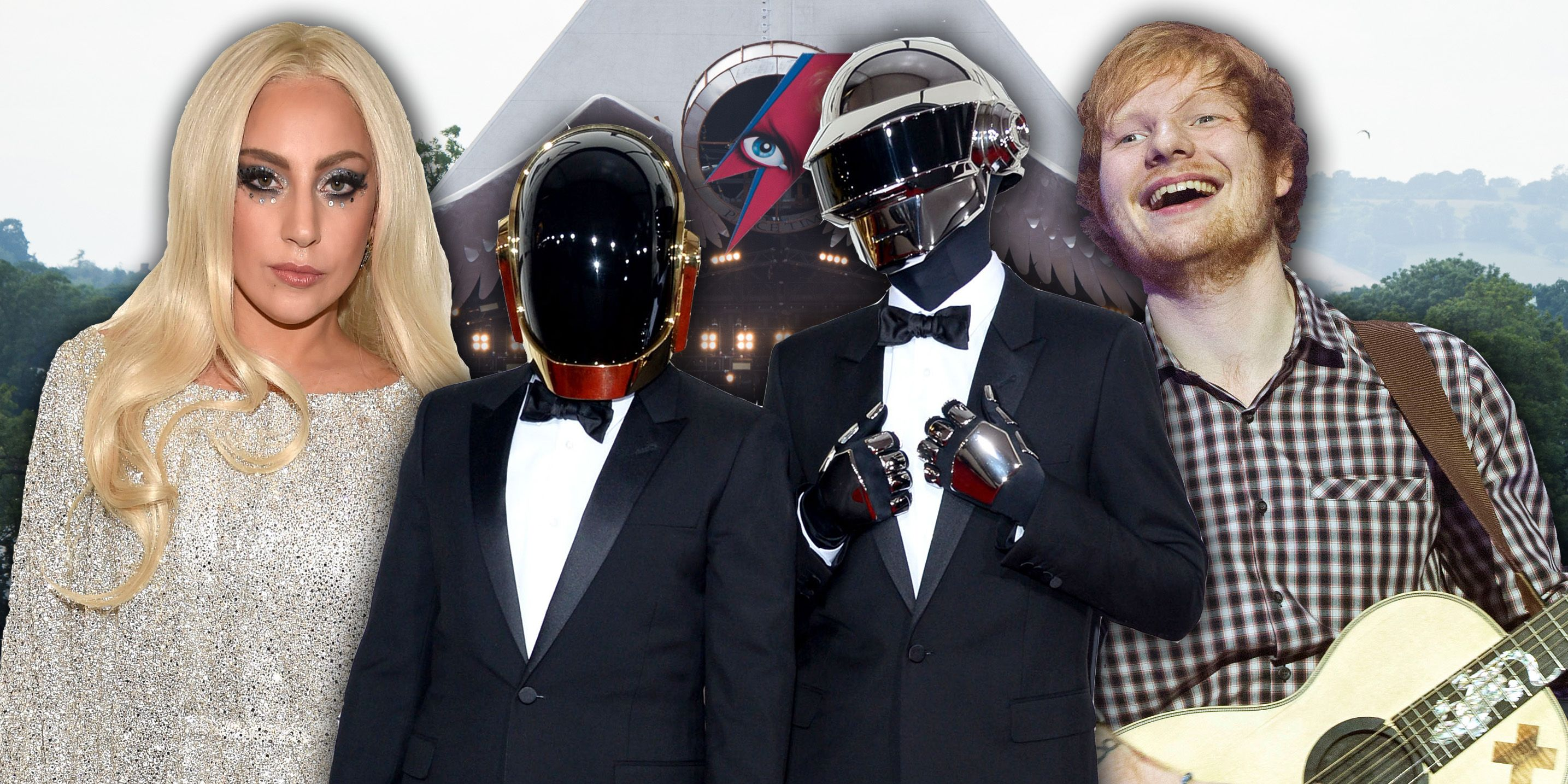 Lady Gaga / Daft Punk / Ed Sheeran