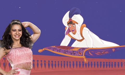 Strictly Come Dancing, Claudia Fragapane, Aladdin