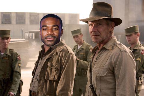 Strictly Come Dancing, Ore Oduba, Indiana Jones