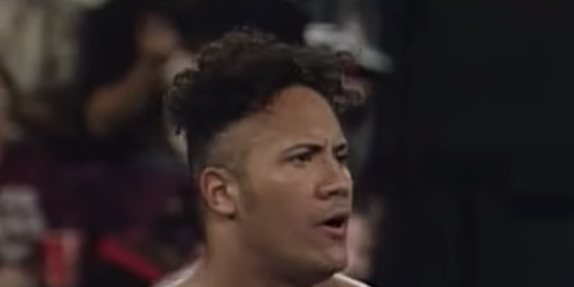 In his first ever WWE match